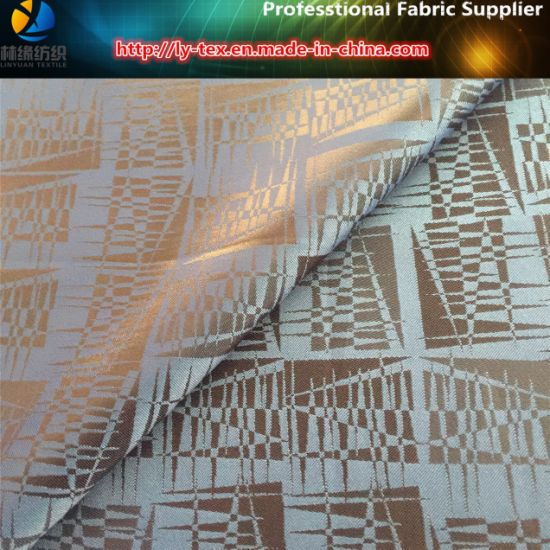 Abatract Jacquard Lining, Cheap Polyester Taffeta Jacquard Fabric (19) pictures & photos