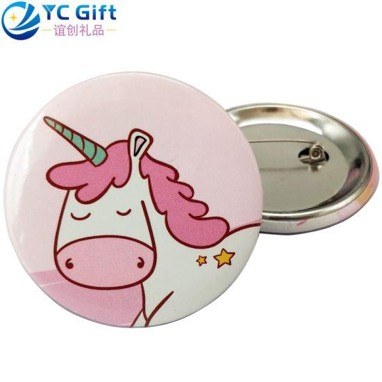 China Custom Cartoon Hot Sale Star Grateful Dead Safety Lapel Pin Company Activity Food Promotional Gift School Sport Souvenir Tinplate Button Tin Badge