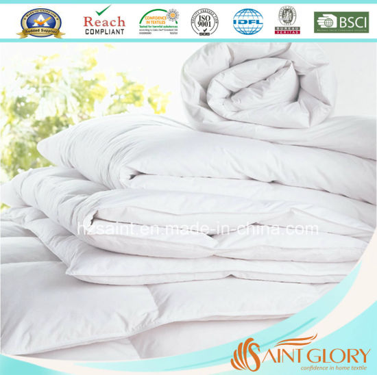 Luxury 85% White Goose Down Duvet Duck Down Comforter pictures & photos