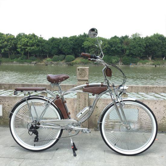 "Bicycle Chrome Lowrider Bicycle Chrome V Handlebar 19/"" 22.2mm CRUISER NEW"