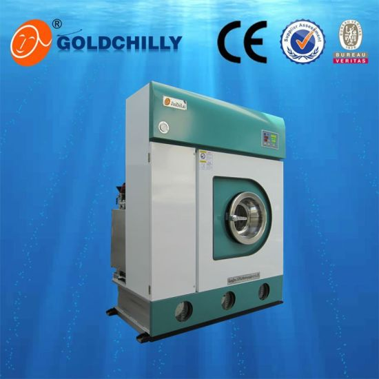 12kg Commercial Dry-Cleaning Machine Pec Solvent