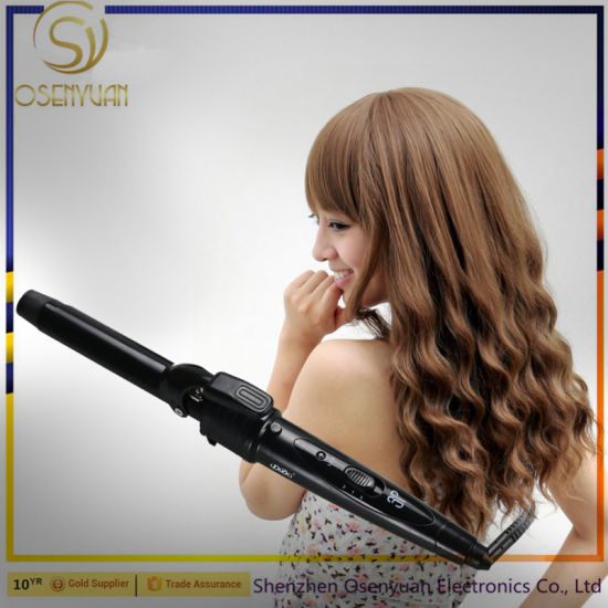 2017 Professional 3 in 1 Interchangeable Ceramic Hair Straightener Brush Cosmetic Hair Hot Brush Hair Curler Irons pictures & photos