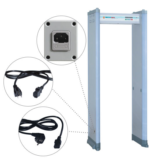 300 Level High Sensitivity Archway Metal Detectors 18 Zones Walk Through Metal Detectors pictures & photos