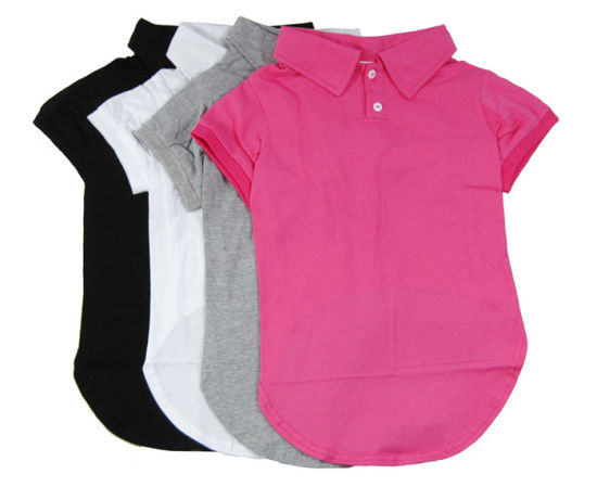 Basic Lesiure Dog Polo Shirt Sports Custom Pet Clothes