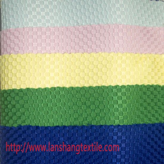 Polyester Fabric Dyed Jacquard Fabric Chemical Fabric for Garment Home Textile pictures & photos