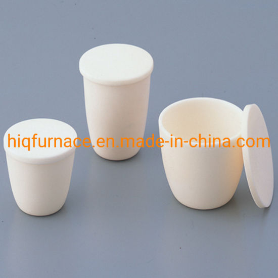 High Quality 30ml/50ml/80ml/100ml 99.99% High Purity Ceramic Crucible, Hot Sales High Temperature Sio2 Quartz Crucible for Melting, Concentrating