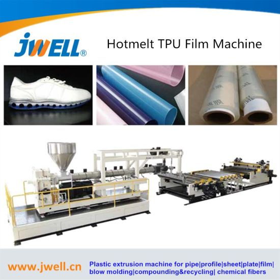 Jwell - Hot Melt Plastic Extruding and Coating Machine for TPU Film