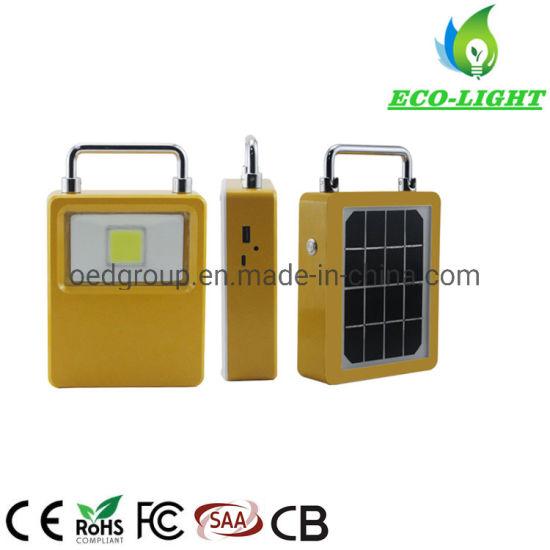20W Portable Power Bank USB Rechargeable COB Solar Energy LED Work Light