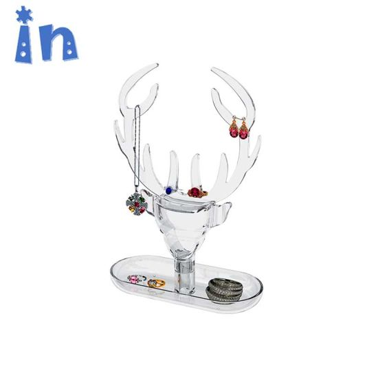 ODM and OEM Wholesale Acrylic Jewelry Organizer Jewelry Display Stand pictures & photos