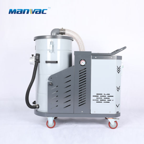 Turbine Blower Driven 4HP Commercial Dust Collector Robust Industrial Vacuum Cleaner