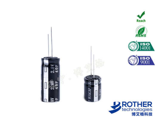 Ultracapacitor 2 8V 10f Super Capacitor with High Volage and Low ESR