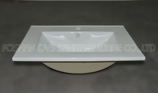 Sanitary Ware Bathroom Cabinet Washbasin pictures & photos