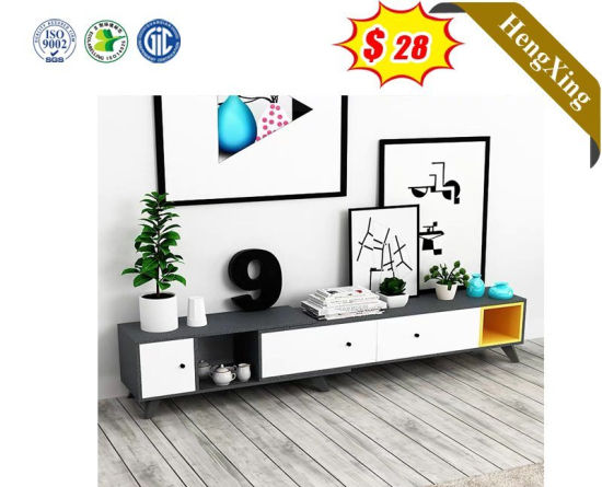 Latest Modern Corner Table with Drawer TV Stand for Living Room