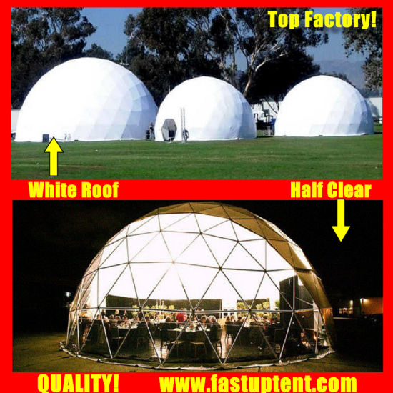 Wholesale Structure Diameter 12m Geodesic Dome Tent for Outdoor Banquet