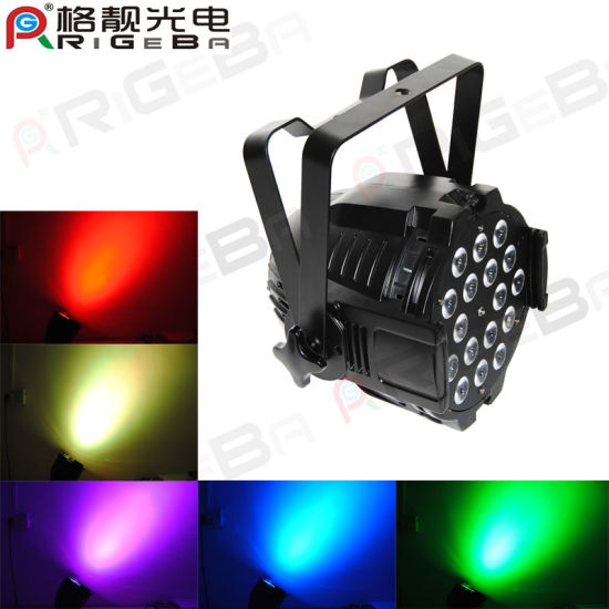 Full Color LED 18 Pieces 10W RGBW 4in1 Bar Stage PAR