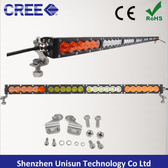 50inch 12V 240W Single Row 5W CREE LED Light Bar pictures & photos