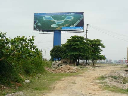 Large Format Outdoor Tri-Vision Billboard for Advertisement