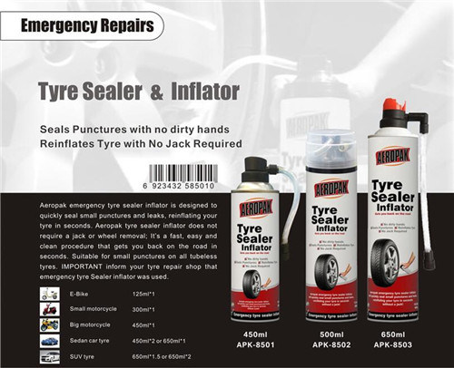 Aeropak Tire Repair Spray Inflator pictures & photos