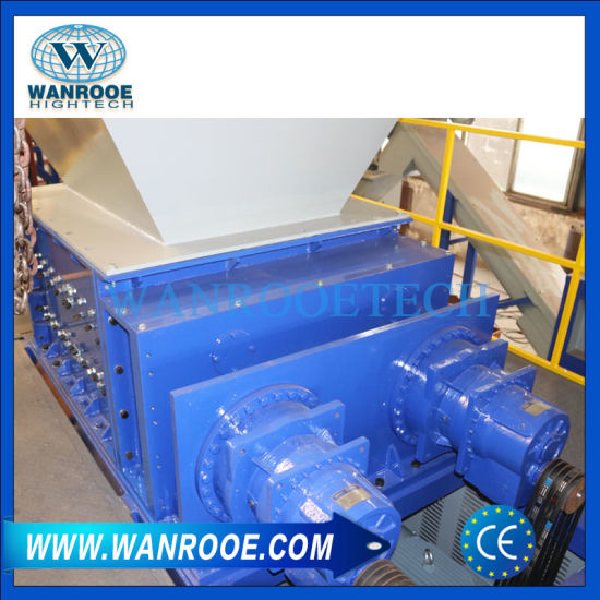 Hot Sale Four Shaft Rubber Metal Waste Shredder Machine pictures & photos