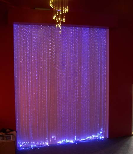 Side Spakle Fiber Optic Curtain pictures & photos
