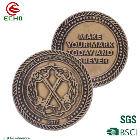 Wholesale Zinc Alloy Craft Gifts 3D Metal Souvenir Coin