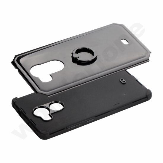 Anti Slip Hybrid Fashion Ring Holder Phone Cover for Huawei Mate 8