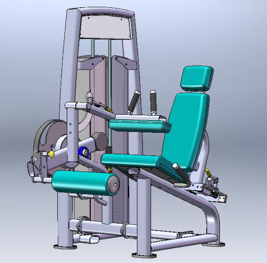 Popular Sports Machine / Prone Leg Curl (SS02) pictures & photos