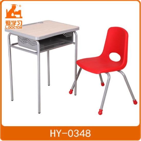 Educational Ergonomic School Student Desk and Chair Sets pictures & photos
