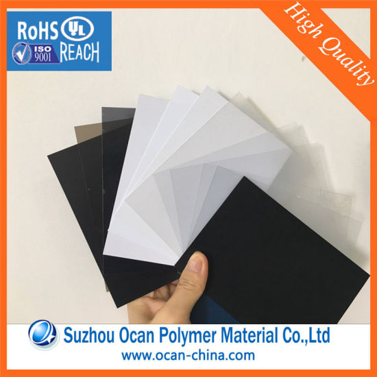 China Transparent Colored PVC Plastic Sheet for Binding Cover ...