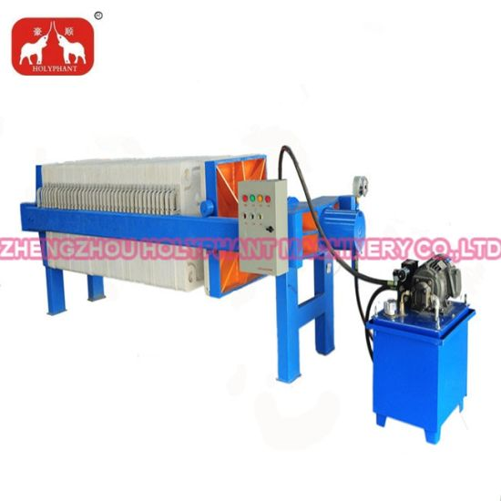China Automatic Hydraulic Frame Oil Filter Press Machine - China Oil ...