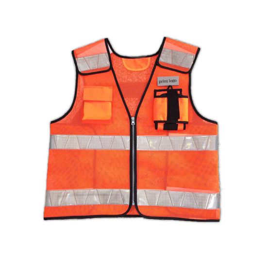 Wholesale Factory Custom High Visibility Reflective Safety Vest with CE