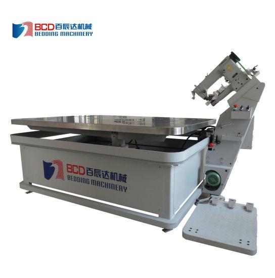 Automatic Interlock Sewing Tape Edge Machine