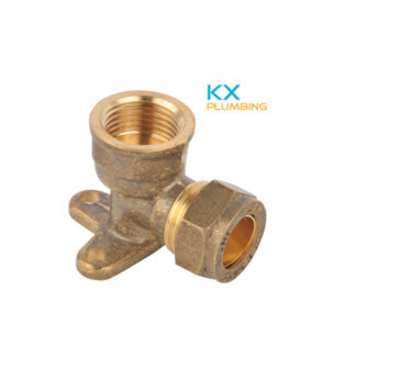 Compression Brass Fittings Brass Tee Brass Elbow Kx-Bf020 pictures & photos