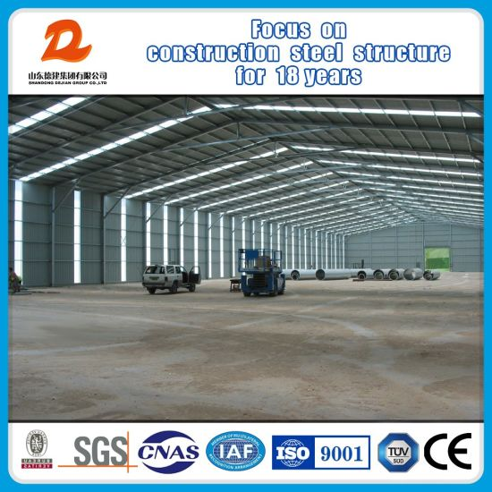 Prefabricated Building Light Frame Metal Structural Steel Structure Warehouse