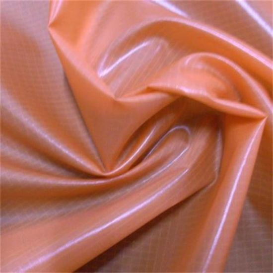 Crinkle Three-Wire Ripstop Nylon Fabric for Down Jacket
