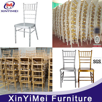 Stacking Aluminum Metal Resin Hotel Restaurant Wedding Chiavari Chair (XYM-ZJ02) pictures & photos