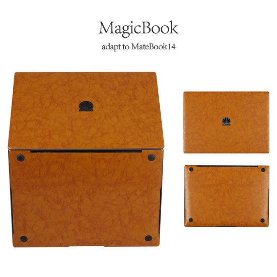 Matebook 14 Magicbook 16 Inch Notebook Laptop Skin Cover PU Leather Skin Decals Sticker