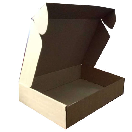 Custom Rectangular Paper Packaging Box with Letter Printing Made in China