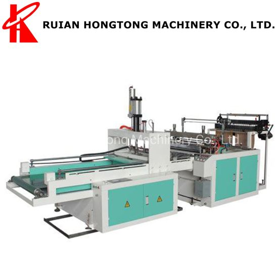 1 2 4 6 8 Lines Can Be Customized/Hot Bottom Heat Sealing and Cold Cutting HDPE LDPE PE Biodegradable Plastic Bag Making Machine Manufacturer Price in China