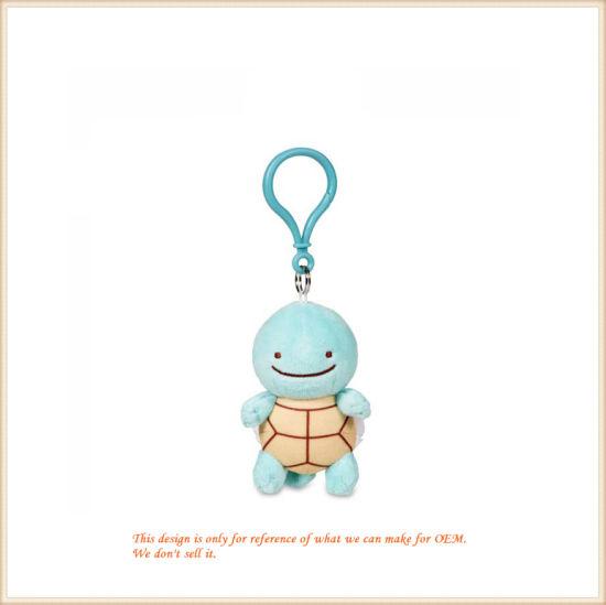 Little Plush Key Chain Turtle-Shaped Key Holder OEM