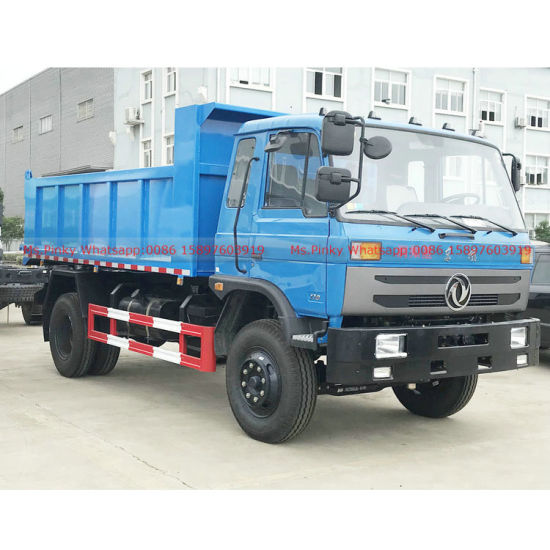 Cheaper Price Dongfeng 10m3 Tipper Truck, 10tons Garbage Dump Truck for Sales