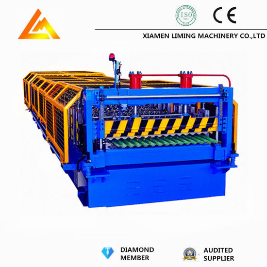 Corrugated Composite Roofing Panel Cold Roll Forming Machine Xiamen Liming
