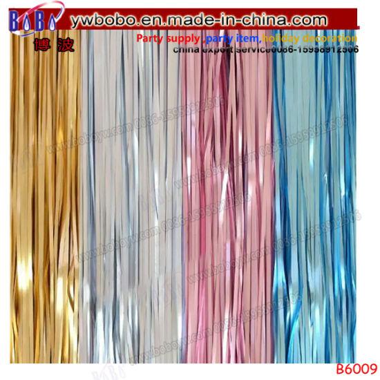 Metallic Foil Tinsel Curtain Wedding Birthday Party Decoration Photo Backdrop