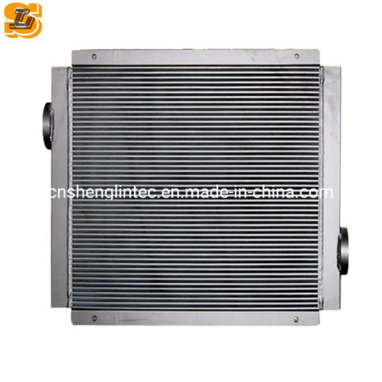 Air Cooling Aftercooler Oil and Gas Heat Exchanger of Compressor Bar Plate Design
