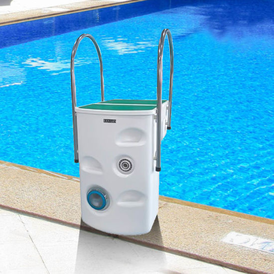 Factory Supply Compact Polyester Fiber Filtration Integrative Swimming Pool Filter