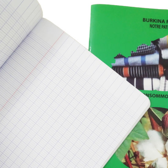 2019 Hot Selling Customised Logo Stationery French Line Exercise Book
