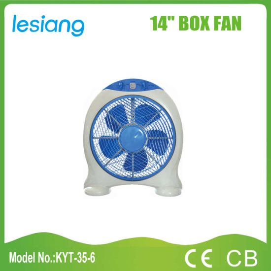 "Hot-Sale Cheapest Price 14"" Box Fan (KYT-35-6)"