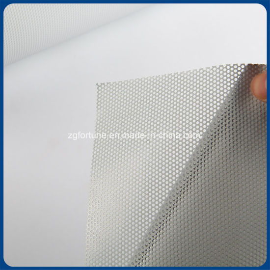 photograph regarding Printable Window Sticker known as China Substantial Good quality Perforated Vinyl 1 Route Eyesight