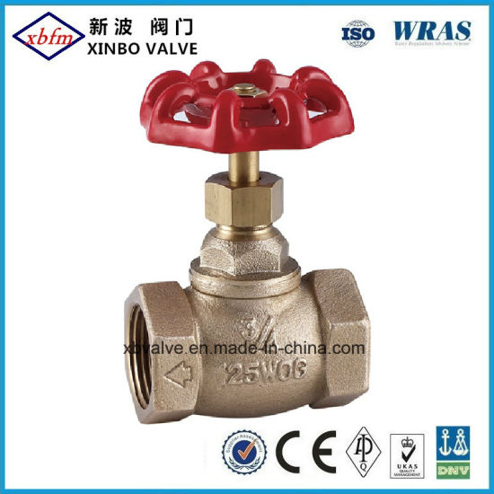 Forged Brass Stop Valve with NPT Thread pictures & photos