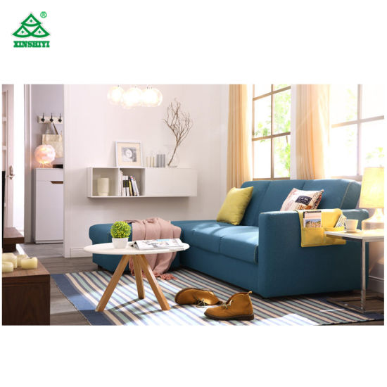 China Contemporary Reception Living Room Sofa Set L Shaped Sofa - Coffee table for l shaped sofa